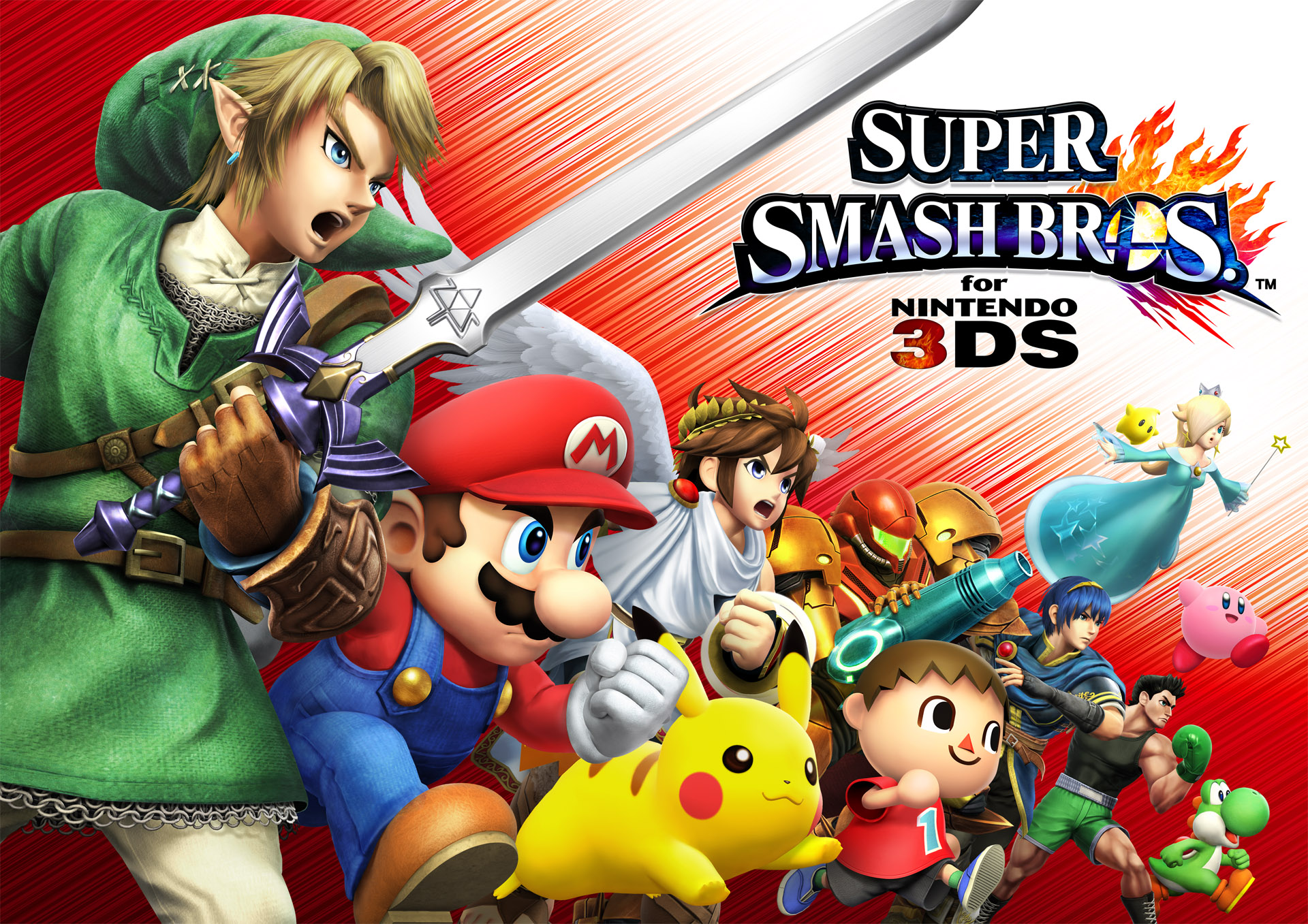 Super Smash Bros. 3DS Freischaltbares
